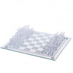 Шахматы стекло (25x 25 см.)