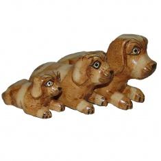 Набор Статуэток Собаки (набор 3 шт)