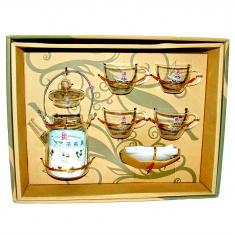 Набор для чайной церемонии (набор из 9 предметов) (стекло)