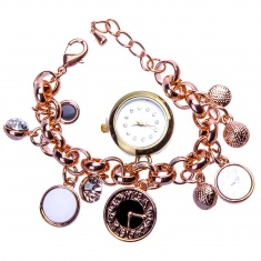 Часы наручные женские d=2 см. круглые