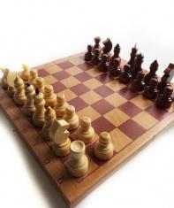 Шахматы обиходные сувенирные тонированные