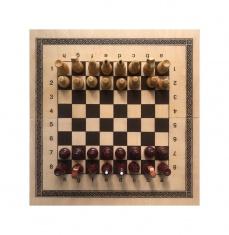 Игра 2в1 малая 400х200х34 (шахматы, нарды)