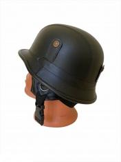 Шлем Мотоциклетный черный (с очками)
