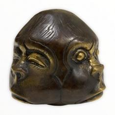 Голова обезьяны (четырехгранная)