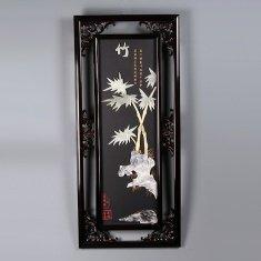 """Картина """"Бамбук"""" 40х90 см. (нефрит)"""