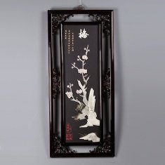 """Картина """"Сакура"""" 40х90 см. (нефрит)"""